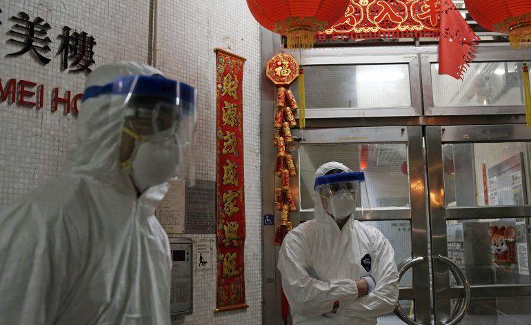 La cifra diaria de muertos por virus en China supera los 100