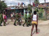 el regimen detiene y procesa a los manifestantes que enfrentaron a la policia en santiago de cuba