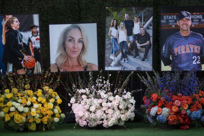 Homenaje a coach y familiares que murieron junto a Bryant