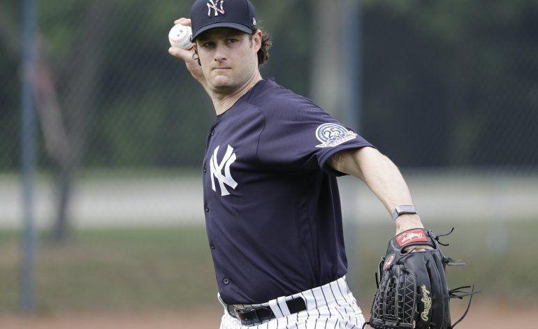 Cole comienza aventura en Yanquis con preguntas sobre Astros