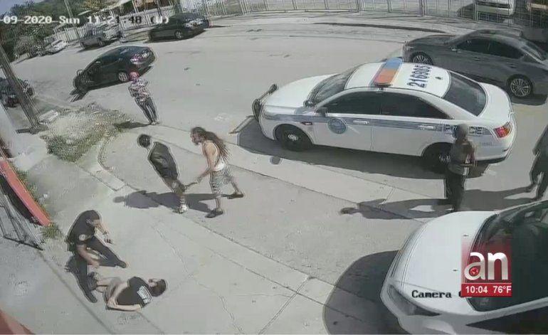Comparece en corte hombre que tras intentar secuestrar a un bebé agredió a los policías que lo arrestaron