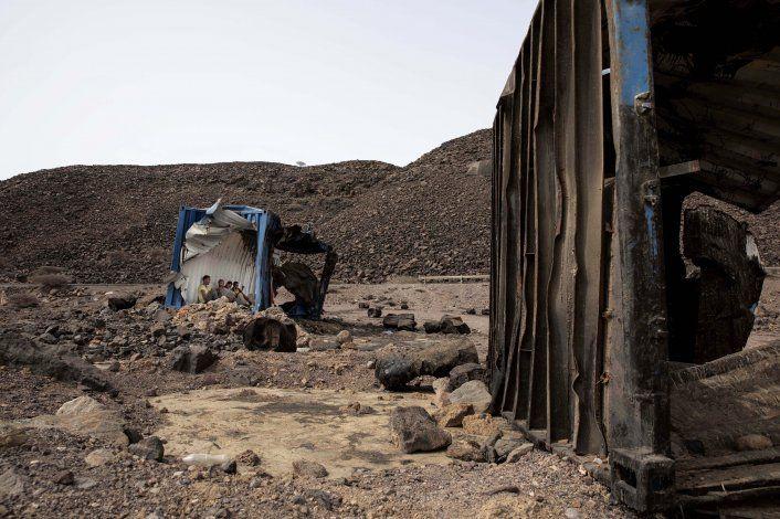 Etíopes enfrentan un duro camino para llegar a Arabia Saudí