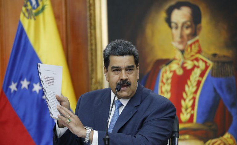 """Venezuela: Maduro dice que el arresto de Guaidó """"llegará"""""""