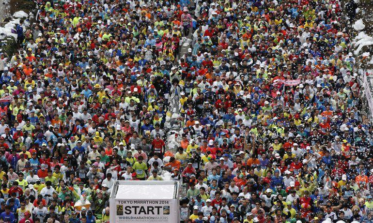Limitan maratón de Tokio por temor a epidemia de coronavirus
