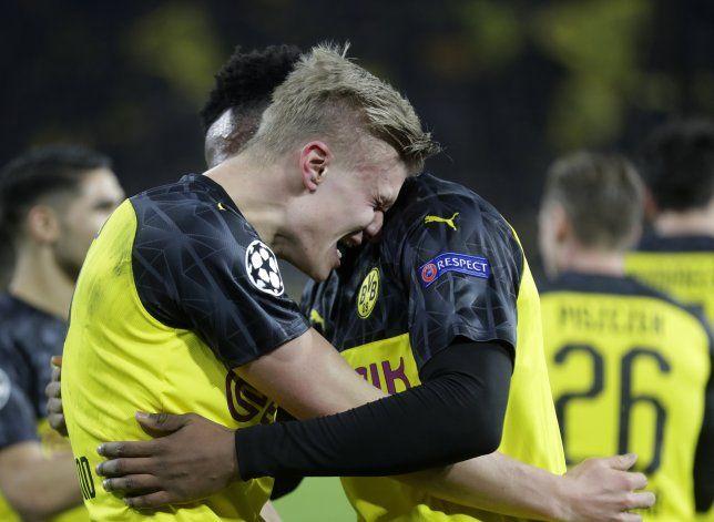 Haaland y el Dortmund anestesian 2-1 al PSG