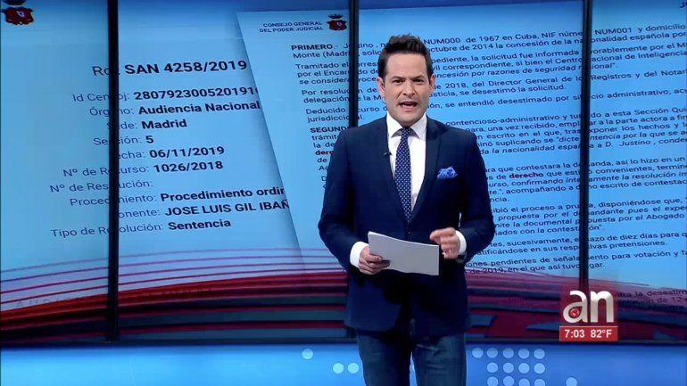 América Noticias obtuvo en exclusiva la sentencia contra una pareja de espías cubanos que operaba en España