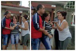 entre gritos de desesperacion una familia cubana es desalojada a la fuerza en la habana