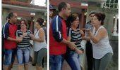 Entre gritos de desesperación una familia cubana es desalojada a la fuerza en La Habana
