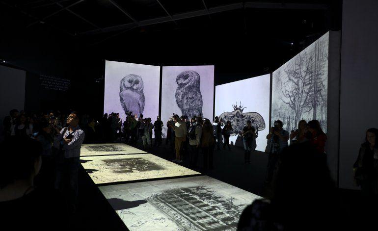 """México recibe la exposición """"Van Gogh Alive"""""""