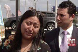 los padres de nino  que murio atropellado el dia de san valentin demandan a concesionario de autos