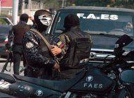 un nuevo escandalo sacude a las fuerzas de seguridad especial de la policia bolivariana, conocida como faes