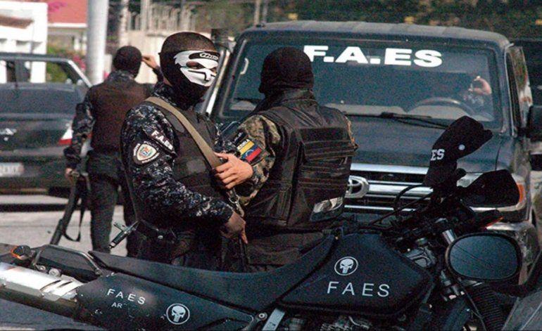 Un nuevo escándalo sacude a las fuerzas de seguridad especial de la policía bolivariana, conocida como FAES