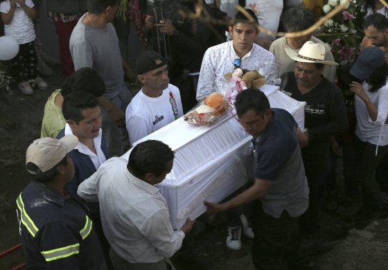 México: Arrestan a 2 vinculados a muerte de niña de 7 años
