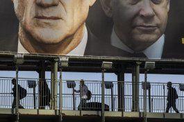 israel investigara empresa de candidato opositor gantz