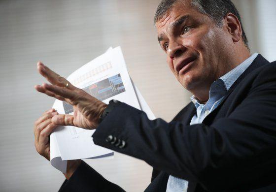 Fiscalía ecuatoriana entrega pruebas para caso Correa
