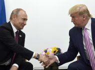 reporte: rusia impulsa campana de trump, dicen funcionarios