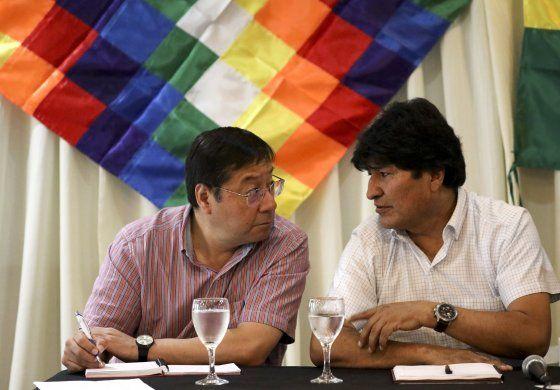 Evo Morales califica de golpe la anulación de candidatura