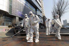 aumentan casos de coronavirus en corea del sur