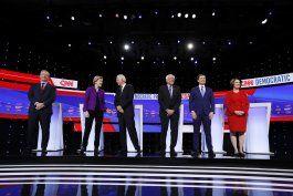 moderada confianza democrata en proceso de nominacion