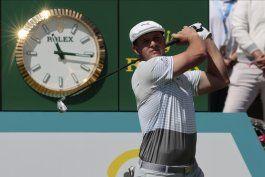 bryson dechambeau es lider en campeonato de ciudad de mexico