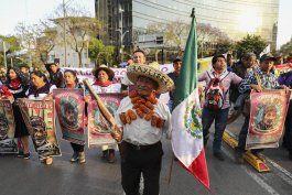 protestan en mexico contra proyectos de infraestructura