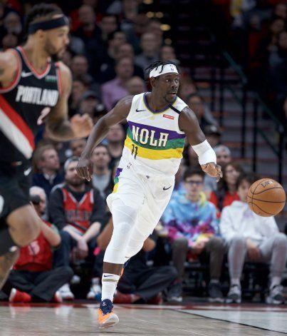 Williamson anota 25 en triunfo de Pelicans sobre Blazers