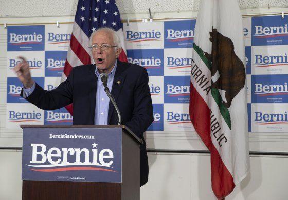 Bernie Sanders gana asamblea partidista demócrata en Nevada