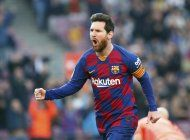 poker de messi y barcelona desplaza al madrid en la cima
