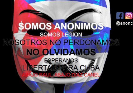Llegamos para quedarnos: Anonymous hackea una página de la Universidad de La Habana