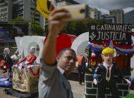 venezuela: oposicion protesta contra gobierno en carnavales