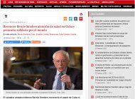 prensa cubana respalda declaraciones de bernie sanders mientras que el partido democrata de florida lo condena