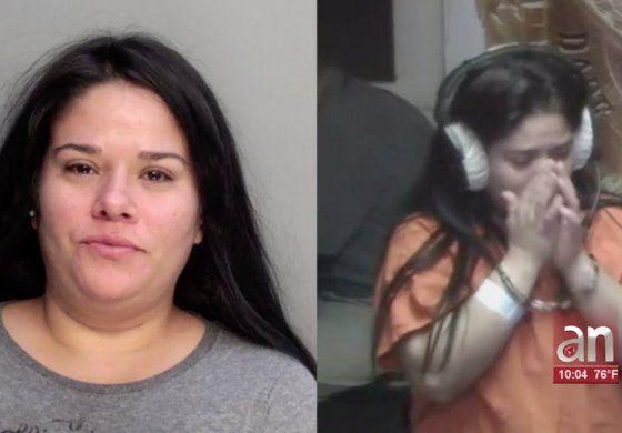 Madre de Hialeah se embriago y dejo a su bebe encerrado dentro de un vehículo