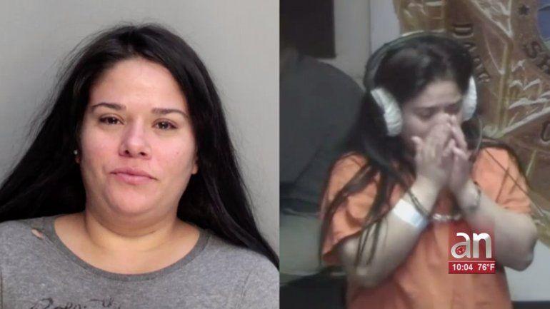 Una madre de Hialeah se embriago y dejo a su bebe encerrado dentro de un vehículo