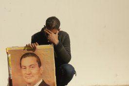 egipto realiza funeral militar para mubarak