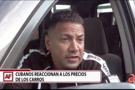 cubano de miami estuvo cinco noches en cola para adquirir un toyota 4x4 de 2011 en 80.000 dolares y sin garantia