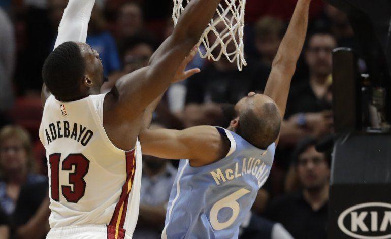 Timberwolves dan la vuelta y superan al Heat