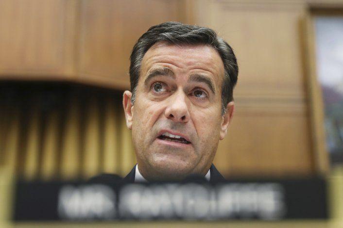 Trump elige a Ratcliffe para encabezar inteligencia de EEUU