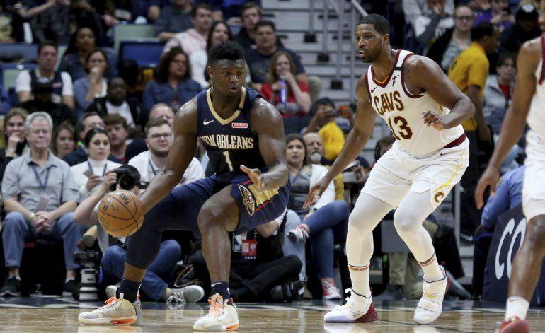 Ingram y Williamson lideran victoria de Pelicans ante Cavs