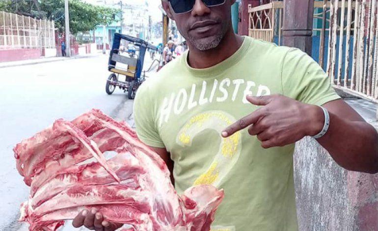 Cubano denuncia a régimen por robo de carne de res en Guantánamo