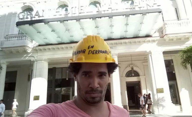 Régimen podría condenar de 2 a 5 años de prisión a artista cubano Luis Manuel Alcántara