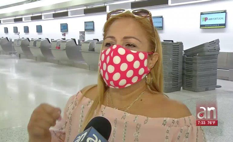 Disminuye la cantidad de viajeros en el Aeropuerto Internacional de Miami por temor al coronavirus