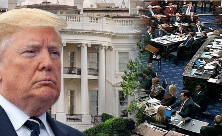 Cámara baja de EEUU aprueba paquete de ayuda de 2,2 billones de dólares, con lo que pasa a manos de Trump para su firma