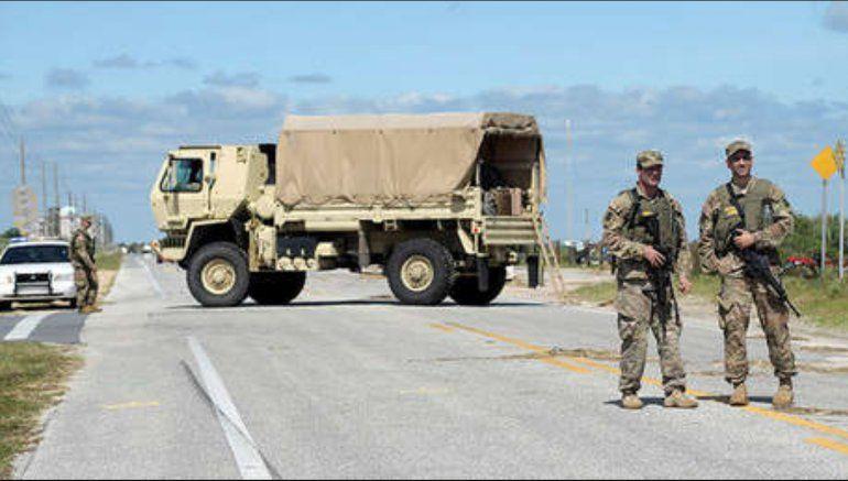 Llegan Soldados de la Guardia Nacional al condado Broward