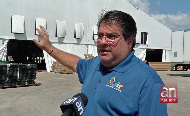 Se construye un hospital temporal  para pacientes de Coronavirus en Miami con capacidad de 250 camas