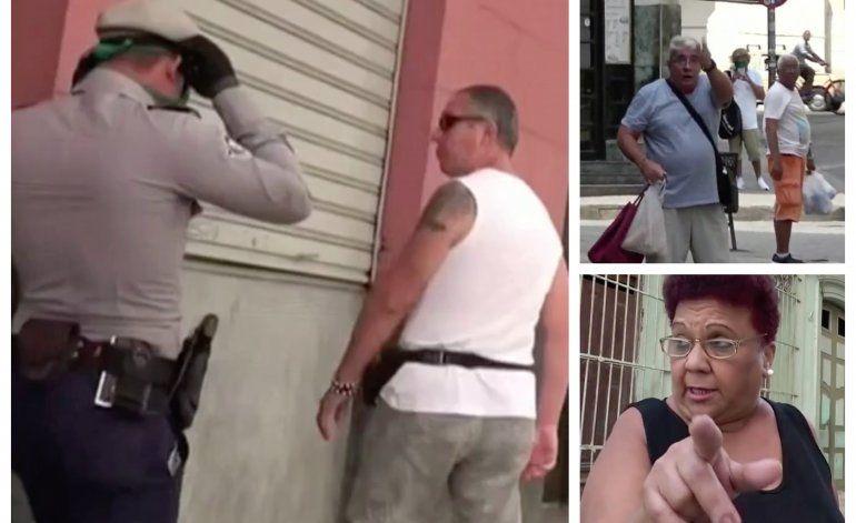 Cubanos delatan con la policía a los turistas que vean caminando por las calles