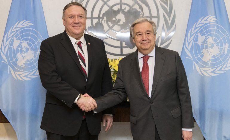 Ocho países piden ayuda a ONU para que les retiren sanciones