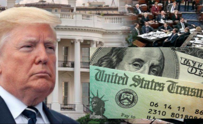 Trump firma el histórico paquete de estímulo por 2 billones de dólares para enfrentar el coronavirus