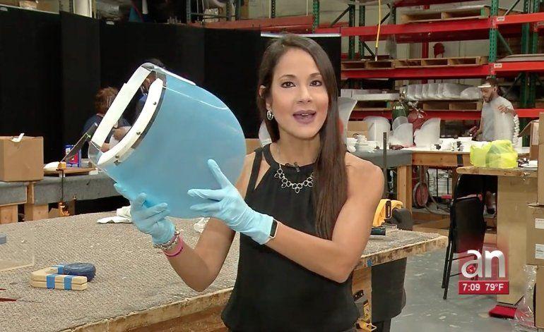 Fabrica de Hialeah detiene su producción habitual para fabricar máscaras de protección para Coronavirus