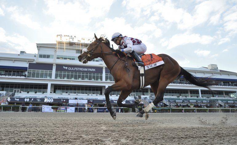 Tiz the Law gana extraño Derby de Florida