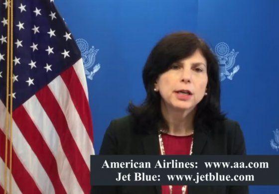 EEUU se comprometió con el pueblo cubano a seguir apoyando su deseo para una Cuba libre y próspera